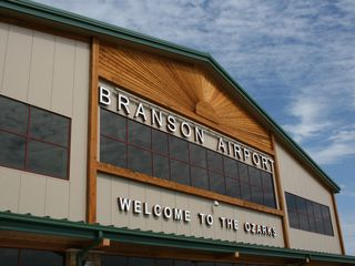 Branson cabin photo - Fly into Branson's own airport now! Photo courtesy Branson Chamber Commerce