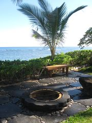 Waialua house photo - Fire pit