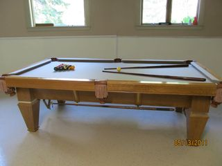 Swanville house photo - Pool Table