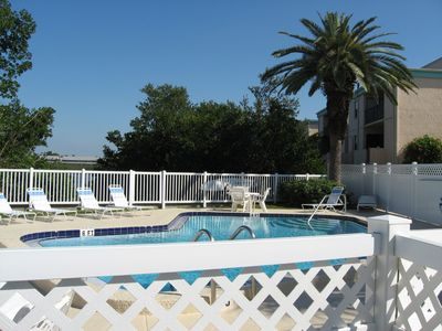Relax by the Pool on the Intercoastal Waterway.