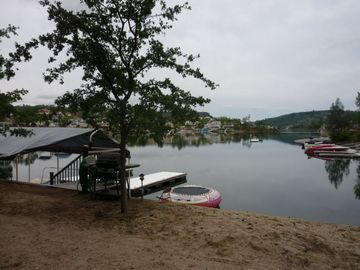 Tulloch Lake house rental - Private Boat Dock w/3 Slips and Shaded Deck Area/great swimming&fishing loca