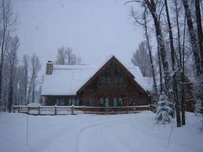 Our Jackson Home--Winter Comfort, Convenience and Easy Access