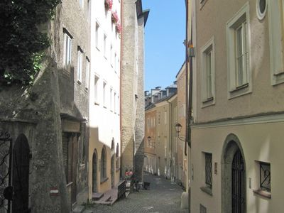"Ap. Altstadt 1 - in the historic ""Steingasse"""