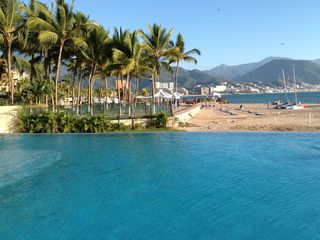 Puerto Vallarta condo photo - View from Infinity Pool