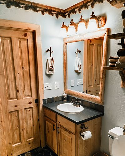 Bath attached to king br, or open for whole home use . Large walk in tile shower