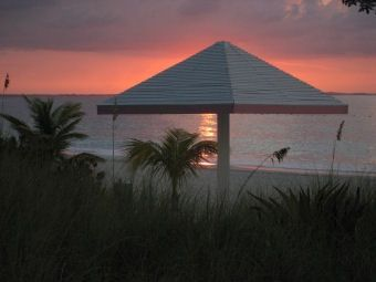 The Beach Sunset  at Ocean Club West on Grace Bay -- Grace Bay Condo Rental