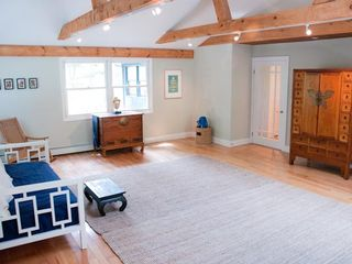 Woodstock house photo - Yoga Room with 4 mats, yoga dvd's and back door that opens to back patio