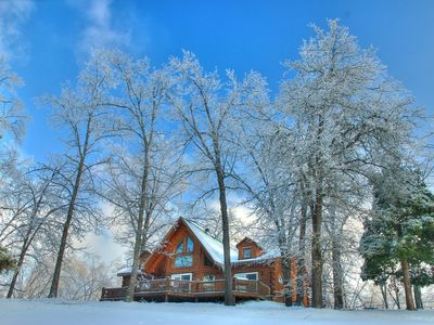 Branson cabin rental - Branson Bear Log Cabin is the cure for cabin fever