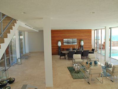 Anguilla villa rental - Interior during the day