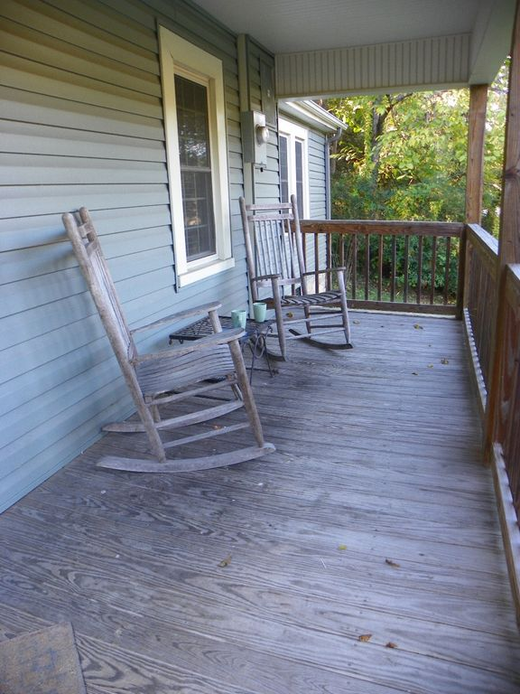 Relaxing rocking chair front porch. Rock your cares away...