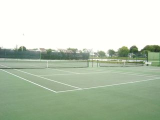 Groton house photo - GLP's tennis courts
