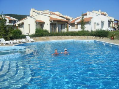 Spacious villa near beach with pool and garden. 5 star luxury accommodation