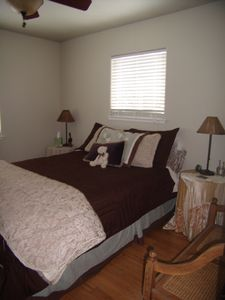 Lake Almanor house rental - Queen Room, With, Views To Cross Country Trails.