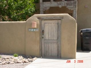 Albuquerque house photo - Front Courtyard Entry