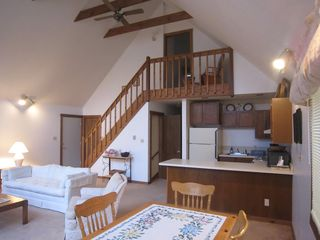 Basye chalet photo - Open floor plan, perfect for spending time together