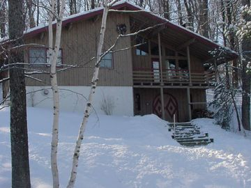 Stratton Mountain chalet rental - Front of house