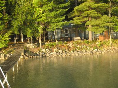 Bellaire / Shanty Creek cottage rental - Sun shining on Lakeview Cottage