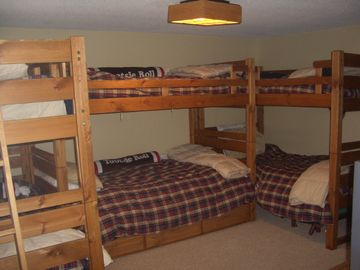 Bedroom #2 sleeps 7 ...3 bunk beds