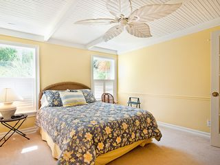 Sanibel Island house photo - Bedroom 1 with ensuite bathroom, Flat screen TV, Blu Ray DVD, spacious closets