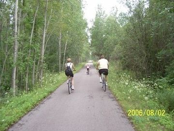 Rails to bike trails, 6 min away, Frankfort-Elberta-Beulah-Thompsonville, 22 m