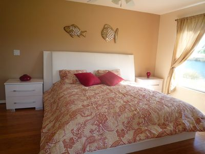 Naples house rental - lakeview from masterbed 2