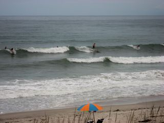 Indian Harbour Beach condo photo - Enjoy watching surfers riding the waves