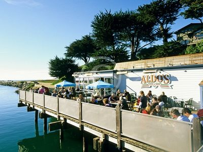 Aldo's restaurant on the harbor (featured in Drive-Ins, Diners & Dives)