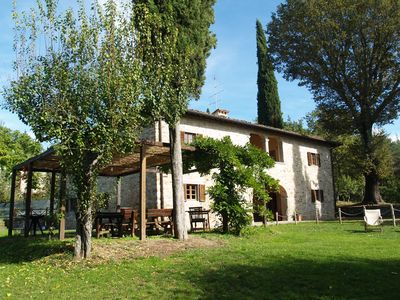 In Casentino with pool, ideal for group of friends or families with children