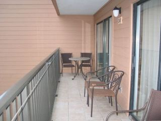 Myrtle Beach Resort condo photo - Balcony