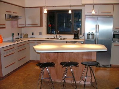 Kitchen with Electrolux Icon appliances