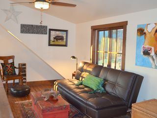 Georgetown Lake house photo - The loft is a great place for a nap & futon folds down into an extra double bed.