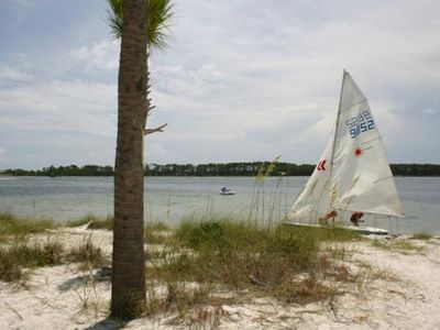 Delwood Beach condo rental - Bay Point private beach