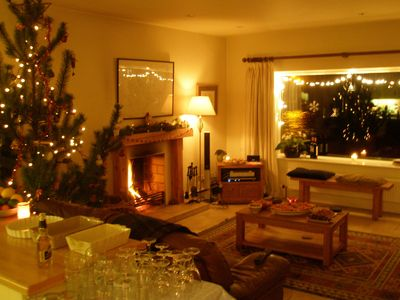 Connemara cottage rental - Christmas Party Time!