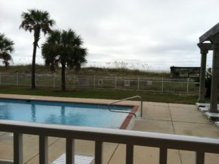 Dauphin Island condo rental - Pool View from Patio