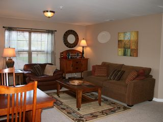 Whitefish condo photo - Beautifully Decorated Spacious Living Room