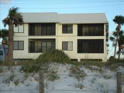 Bradenton Beach condo rental - Gulf Watch From Beach