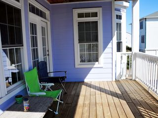 Carolina Beach house photo - back deck perfect only entrance in/out of house.