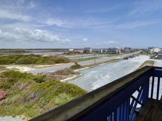 Surf City house photo - View From Sound Side Deck