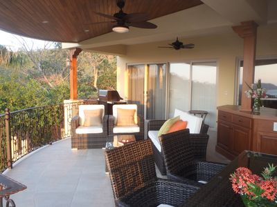 Great terrace right off the master bedroom!