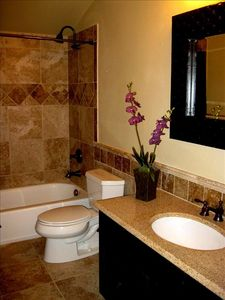 BATHROOM #2 - Custom luxury!