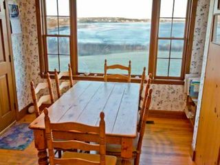 Chilmark house photo - The Kitchen Also Has A Casual Eating Area With View