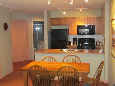 Spacious unit! Updated with large screen TV and new appliances
