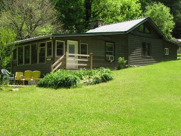 Bryson City cabin rental - Welcome to Peaceful Creek Cabin on the rushing Alarka Creek