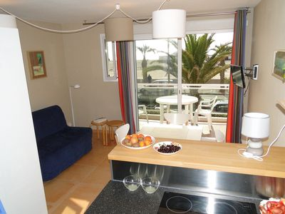 STUDIO BY THE SEA FULLY EQUIPPED TO CANET BEACH