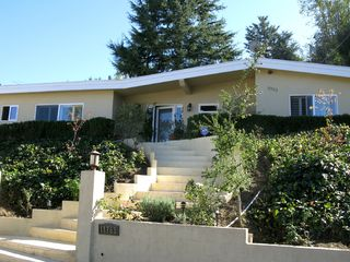Studio City house rental - Quiet, private street. Yet just a 5-minute walk to trendy restaurants and shops.