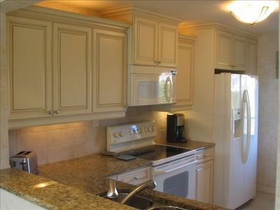 Sanibel Island condo rental - Kitchen