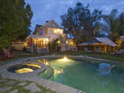 Healdsburg house rental - pool and spa perfect combination