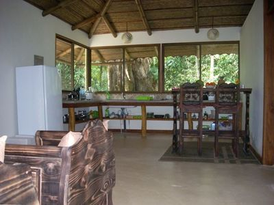 Jungle Dreamz's Lounge, Dining and Kitchen Area