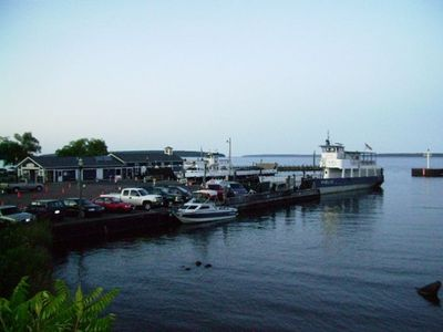 Madeline Island Ferry 1/2 Block East & 1 Block North. 15 Min to Madeline Island!