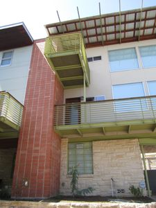 Austin house rental - 3 story home sitting atop a hill overlooking the beautiful city